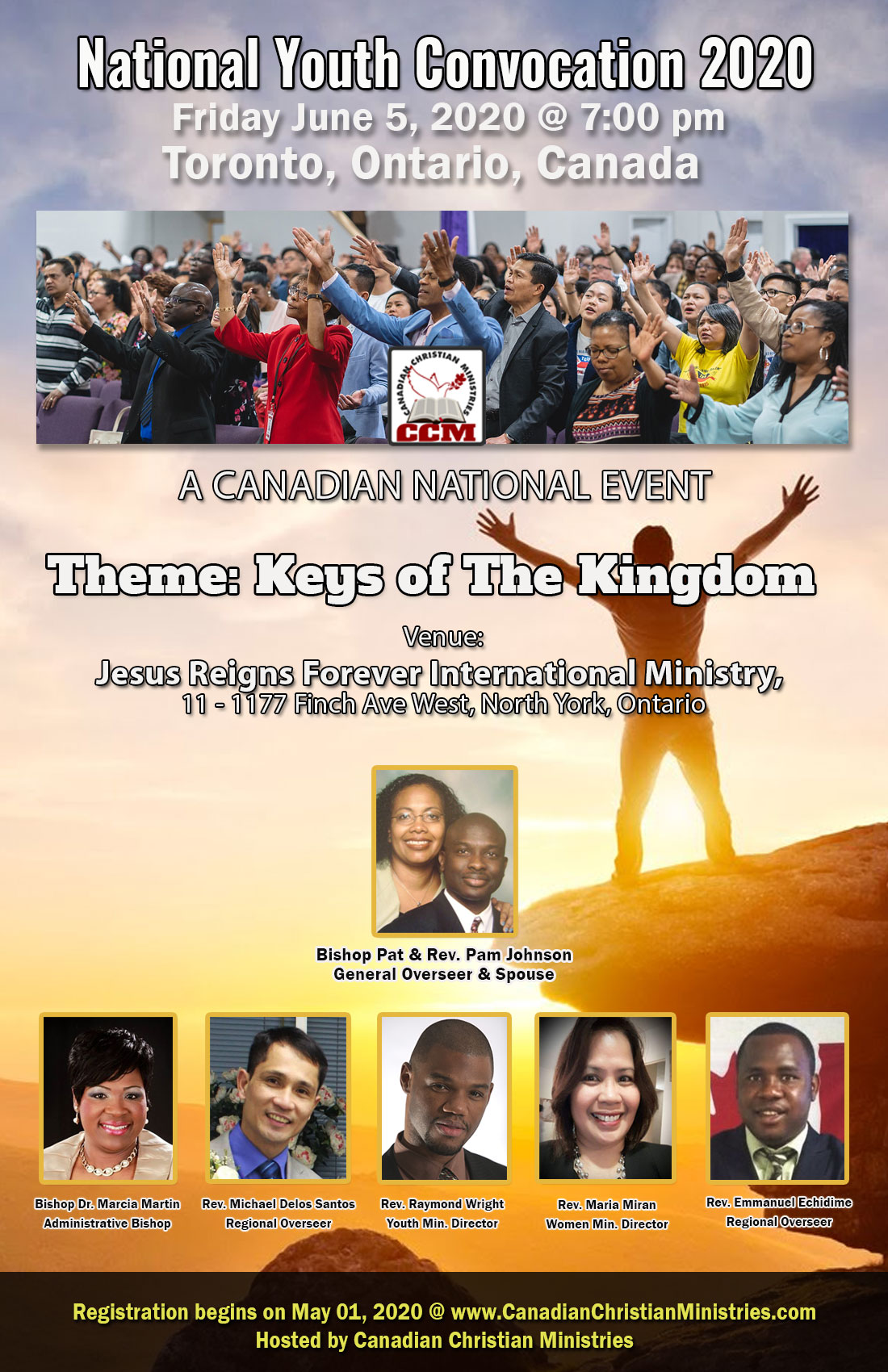 Friday June 5, 2020 - National Youth Convocation